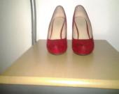 Damske boty na vysokem podpatku