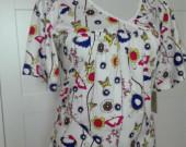 D.Perkins - Krásné, nové tričko pro těhulky,40-42v